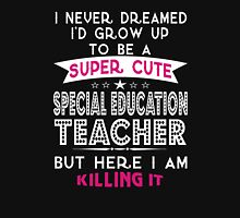 Super Cute Special Education Teacher Womens Fitted T-Shirt