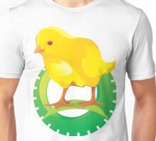 Cute Yellow Bird Unisex T-Shirt