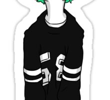 Josh Dun Green Hair Sticker