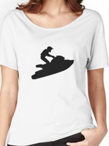 Jet ski racing Women's Relaxed Fit T-Shirt