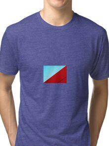 wall and sky Tri-blend T-Shirt