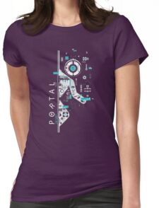 Portal Digital Womens Fitted T-Shirt