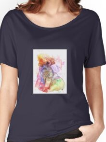 Pug is love - Galaxy abstract Women's Relaxed Fit T-Shirt