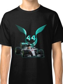 Lewis Hamilton F1 with LH 2016 44 car Classic T-Shirt