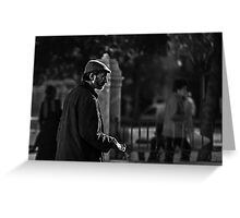 Man of the street Greeting Card