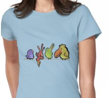 chirp and tweet Womens Fitted T-Shirt