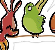 chirp and tweet Sticker