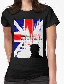 I MISSED LONDON Womens Fitted T-Shirt