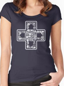 D-Pad Women's Fitted Scoop T-Shirt