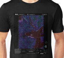USGS TOPO Map Alaska AK Ketchikan D-6 356752 2000 63360 Inverted Unisex T-Shirt