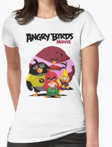 The Angry Birds Movie Womens Fitted T-Shirt