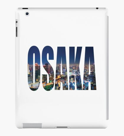 Osaka iPad Case/Skin