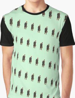 Victorian John Watson Pattern Graphic T-Shirt
