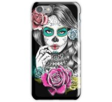 Aaliyah, Day of the Dead iPhone Case/Skin