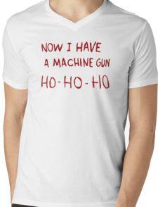 DIE HARD - NOW I HAVE A MACHINE GUN Mens V-Neck T-Shirt