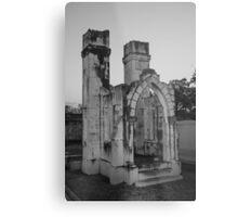 Castle Tomb Metal Print