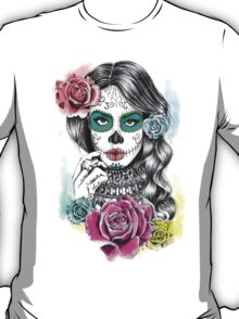 Aaliyah, Day of the Dead T-Shirt