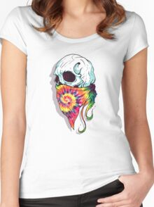 Skull Hipster Women's Fitted Scoop T-Shirt