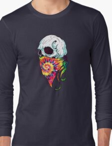 Skull Hipster Long Sleeve T-Shirt