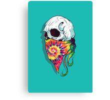 Skull Hipster Canvas Print