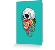 Skull Hipster Greeting Card