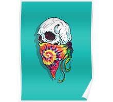 Skull Hipster Poster