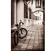 Down town - the old part Photographic Print