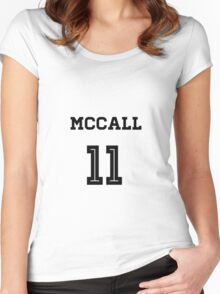 McCall Lacrosse Jersey Women's Fitted Scoop T-Shirt