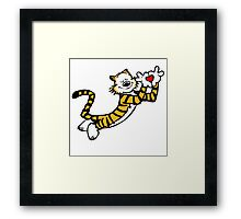 Hobbes With Love Framed Print