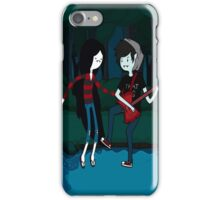 Marceline and Marshall Lee - Adventure Time iPhone Case/Skin