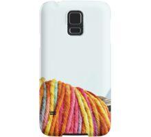 Yarn Rainbow Samsung Galaxy Case/Skin