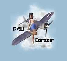F4U Pin Up Art 2 Unisex T-Shirt
