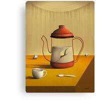 Bule Sobre a Mesa. Canvas Print
