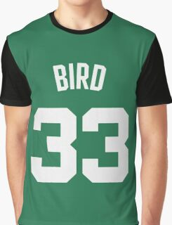 Larry Bird Graphic T-Shirt