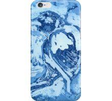 Bird on a Wire (Blue) iPhone Case/Skin