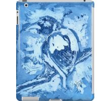 Bird on a Wire (Blue) iPad Case/Skin