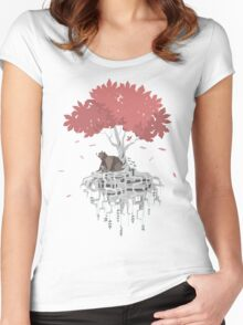 Tree Root Island Women's Fitted Scoop T-Shirt