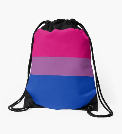 Bisexual Pride Flag Drawstring Bag