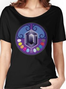 The jewels (solid) Jewels: White, Yellow, Tigers eye, Rose, Summer sky, Purple, opal, emerald, sapphire, red, ebony, and black Women's Relaxed Fit T-Shirt