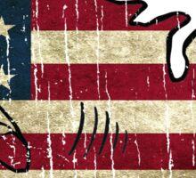 America is a Shark Sticker
