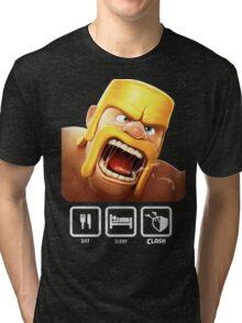 clash of clans Tri-blend T-Shirt