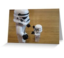 Dave Stormtrooper  Fathers Day Hug Greeting Card