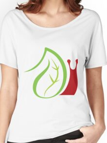 Nature and worm insects Women's Relaxed Fit T-Shirt