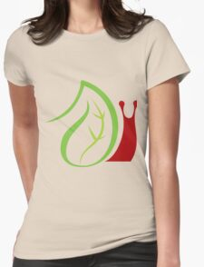 Nature and worm insects Womens Fitted T-Shirt
