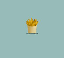 Fries - Minimal Food by Simon Mettler