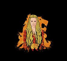 Cersei is power phone by EdWoody