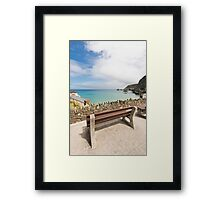 A View Of The Sea Framed Print