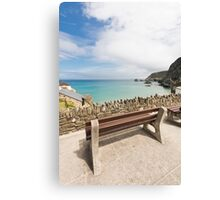 A View Of The Sea Canvas Print