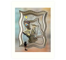 Embryonic Thoughts in Stereo Art Print