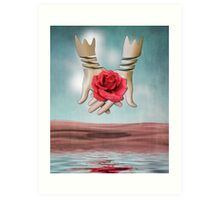 Continual Flow of Love Art Print